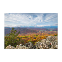 Virginia Blue Ridge Autumn Fall Art Print