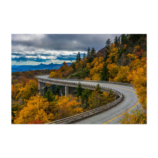 Linn Cove Viaduct North Carolina Art Print