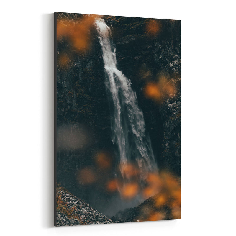 McArthur Burney Falls California Canvas Art Print