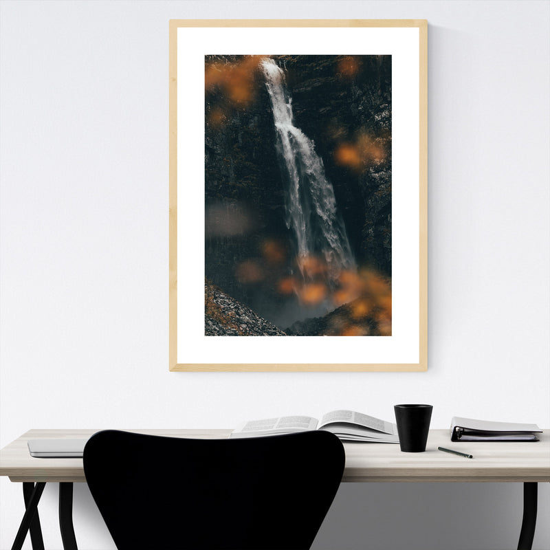 McArthur Burney Falls California Framed Art Print