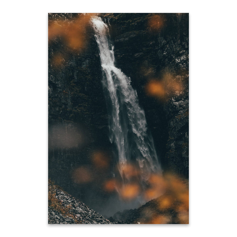 McArthur Burney Falls California Metal Art Print