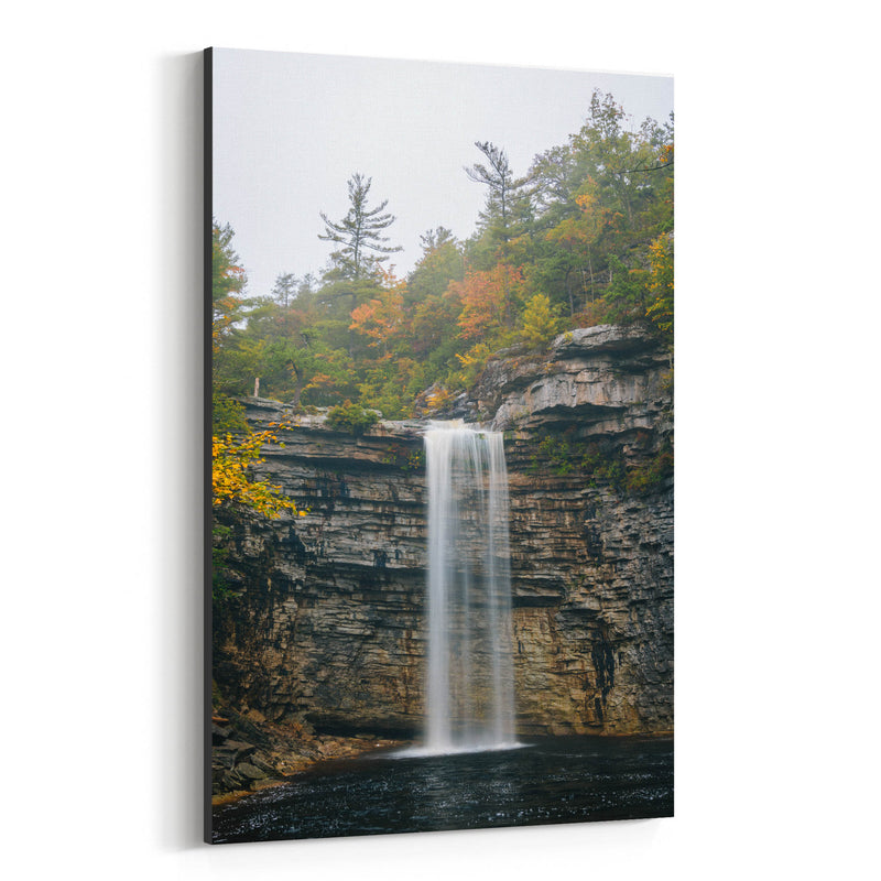 Minnewaska Waterfall New York Canvas Art Print