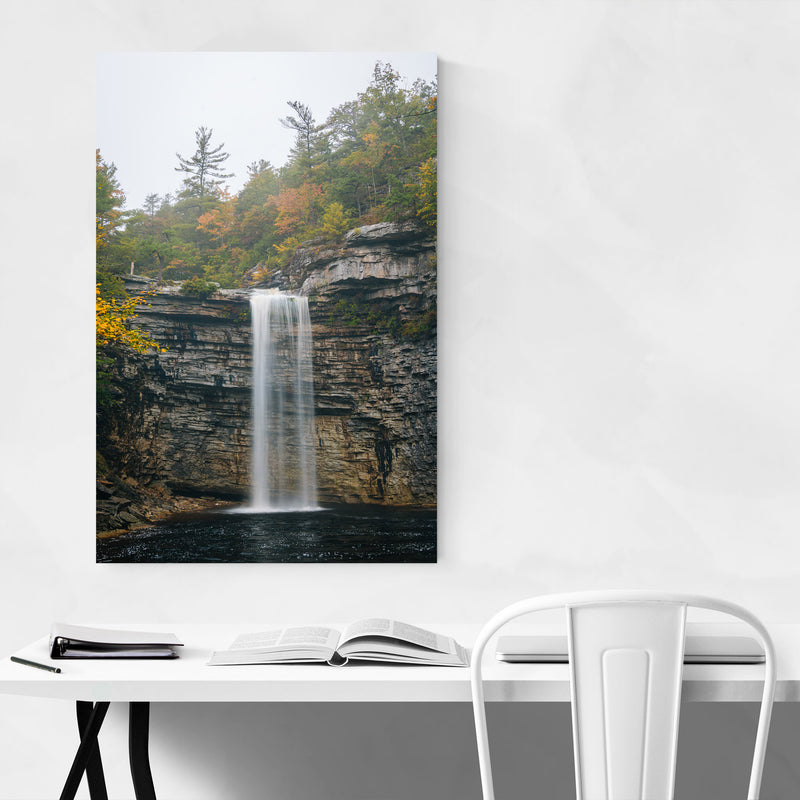 Minnewaska Waterfall New York Art Print