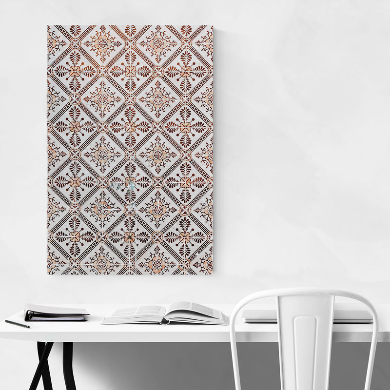 Azulejo Tile Lisbon Pattern Canvas Art Print