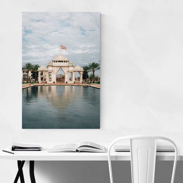 Houston Texas Hindu Temple Art Print