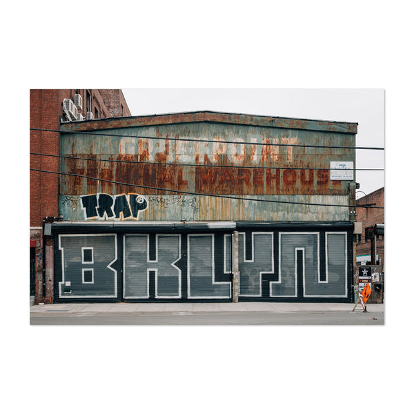Mural Greenpoint Brooklyn NYC Art Print