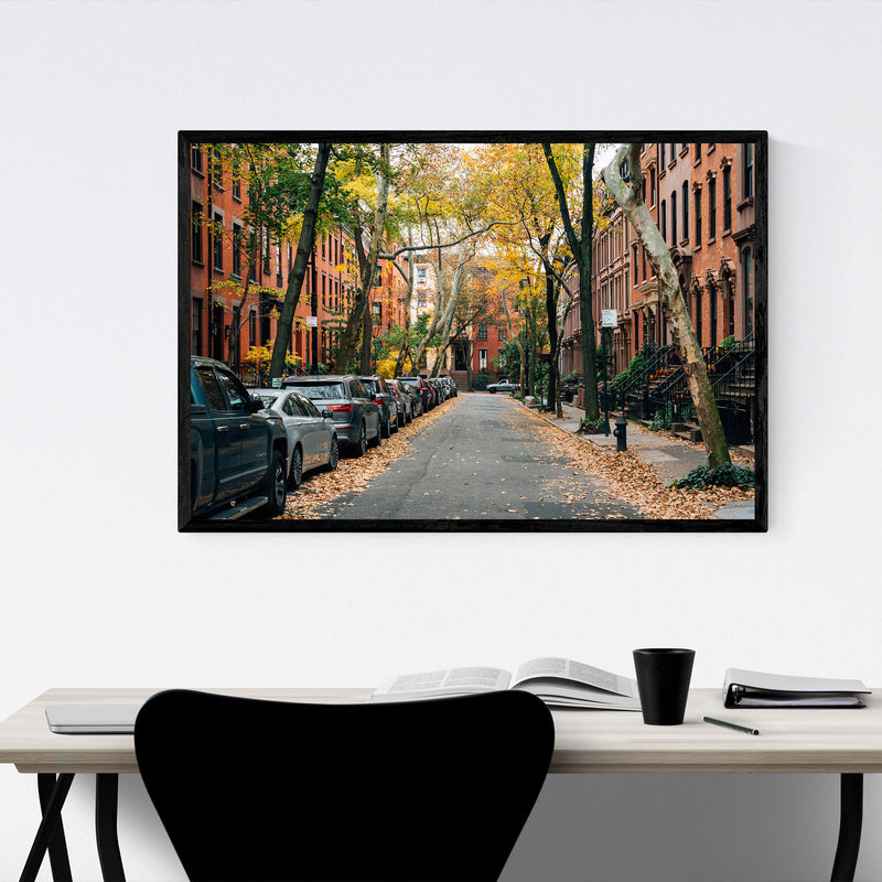 Brooklyn Heights New York City Framed Art Print