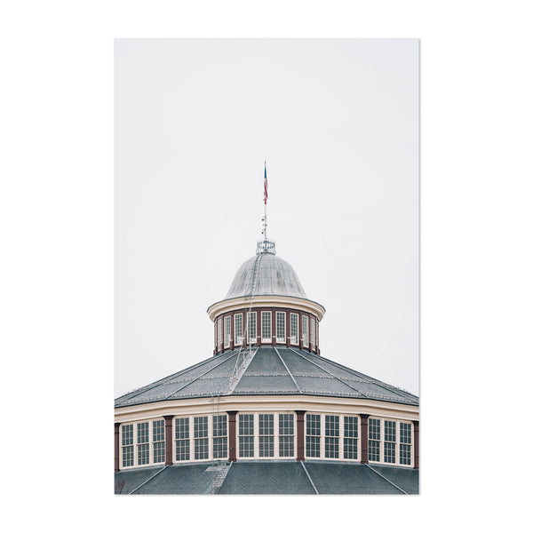 B&O Railroad Museum Baltimore Art Print