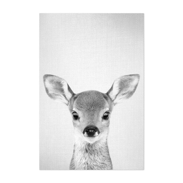 Cute Baby Deer Peekaboo Animal Art Print