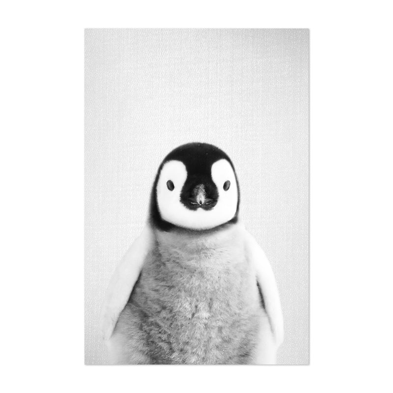 Baby Penguin Peekaboo Animal Art Print