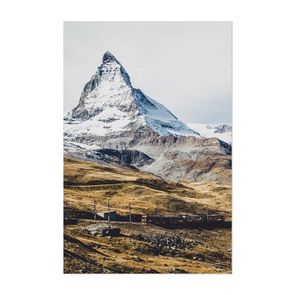 Zermatt Switzerland Alps Nature Art Print