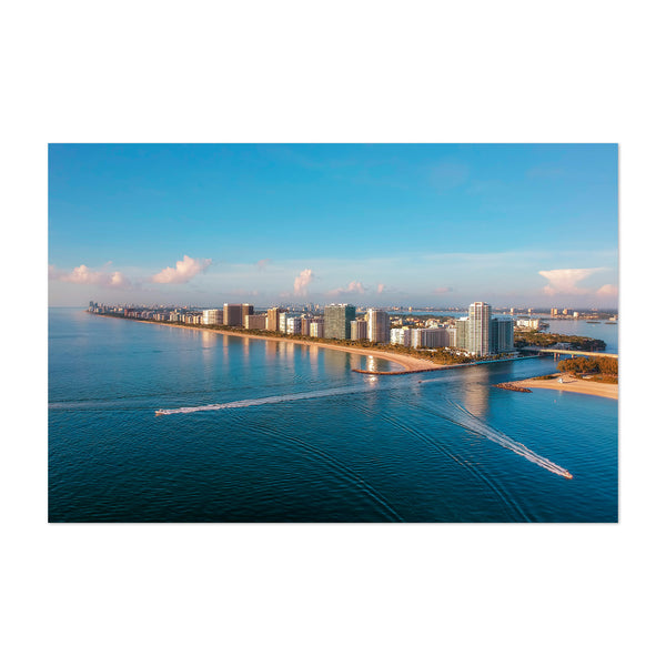 Miami Florida Bal Harbour Beach Art Print