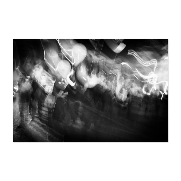 Abstract Balloons Blur Photo Art Print