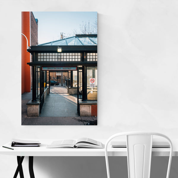 Baltimore Maryland Metro Station Art Print