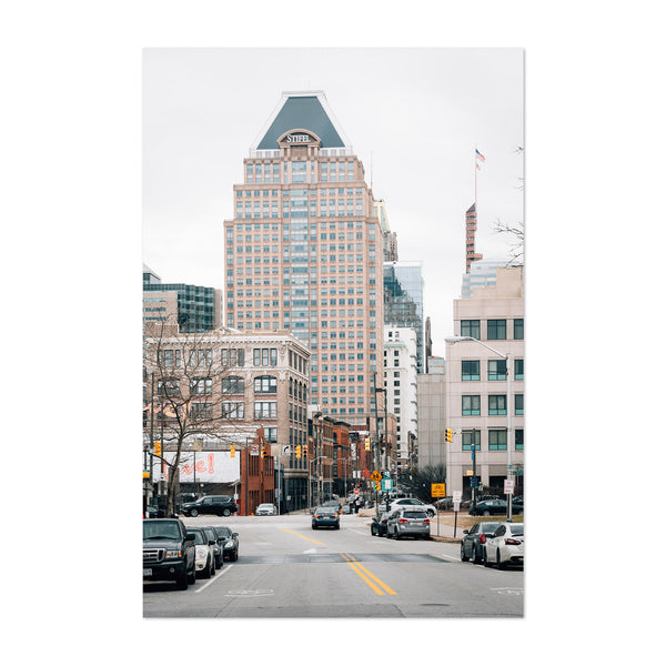 Downtown Baltimore Maryland Art Print