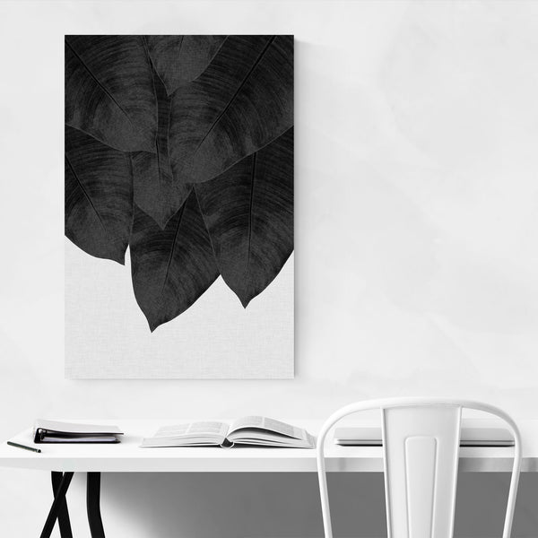Tropical Banana Leaf Botanical  Art Print