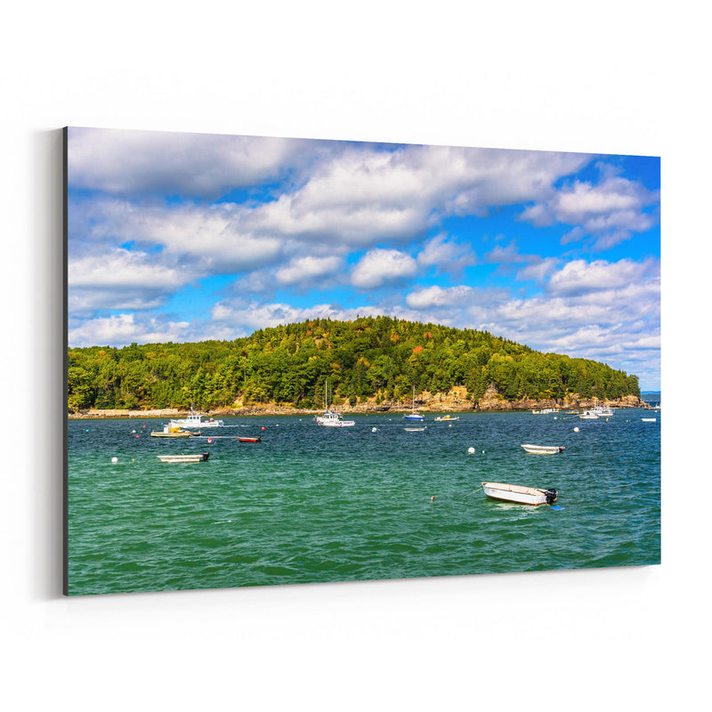 Bar Harbor Acadia Maine Nature Canvas Art Print