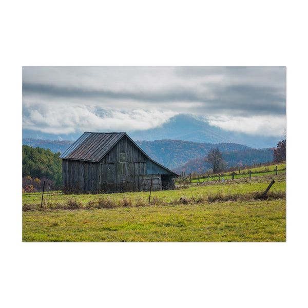 Virginia Blue Ridge Mountains Art Print