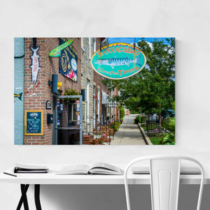 Locust Point Baltimore Maryland Art Print