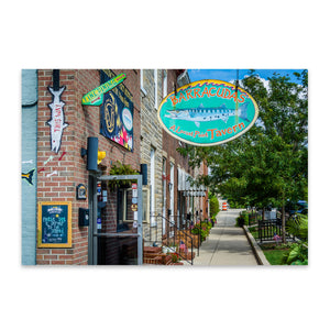 Locust Point Baltimore Maryland Metal Art Print