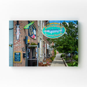 Locust Point Baltimore Maryland Mounted Art Print