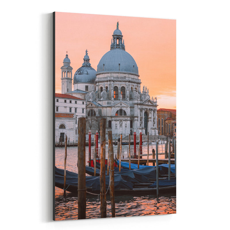 Venice Italy Basilica of Salute Canvas Art Print