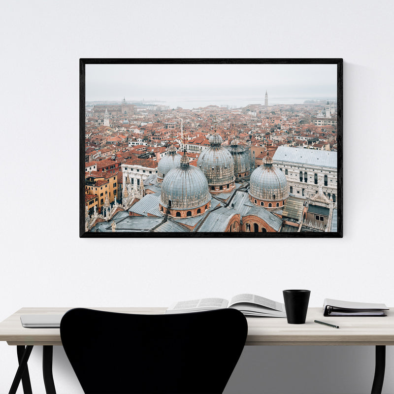 Venice Italy Architecture Photo Framed Art Print
