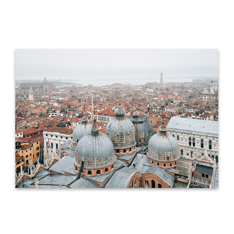 Venice Italy Architecture Photo Metal Art Print