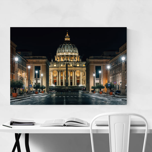 Rome Italy St. Peters Vatican Art Print