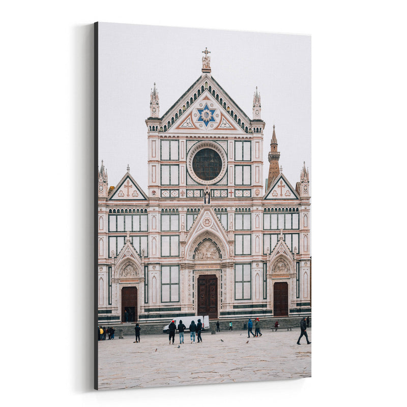 Florence Italy Architecture Canvas Art Print