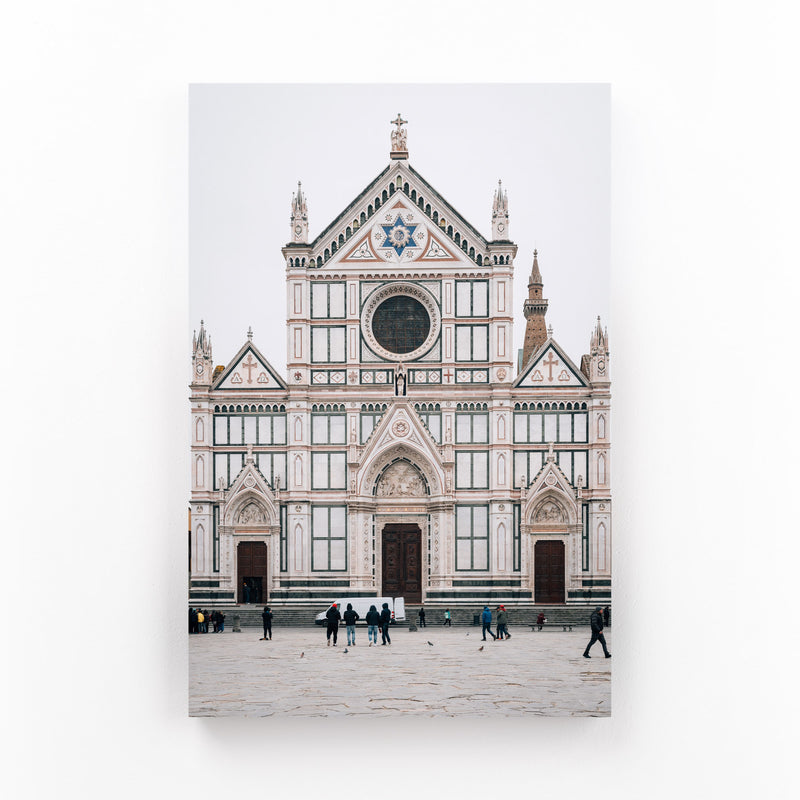 Florence Italy Architecture Mounted Art Print