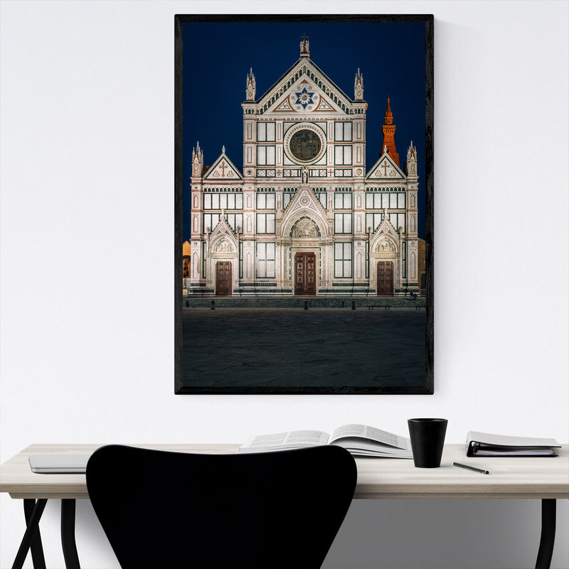 Florence Italy Architecture Framed Art Print