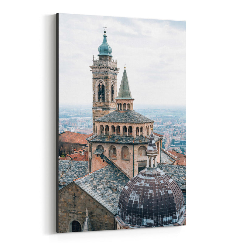 Bergamo Italy Photography Canvas Art Print