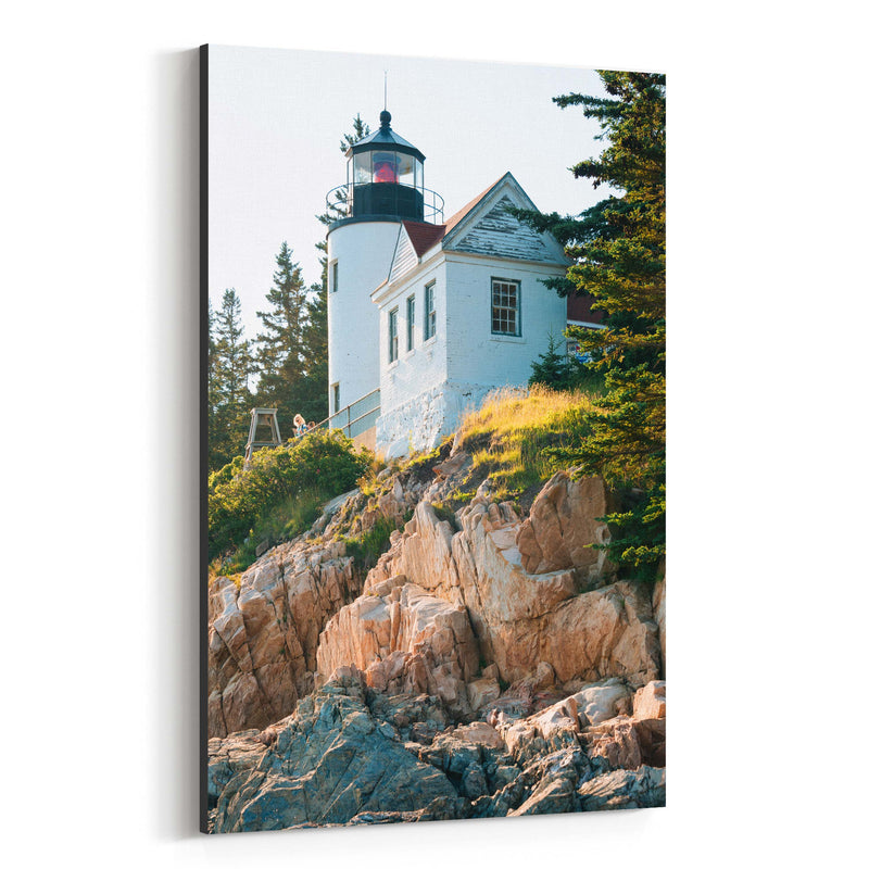 Bass Harbor Lighthouse Acadia ME Canvas Art Print