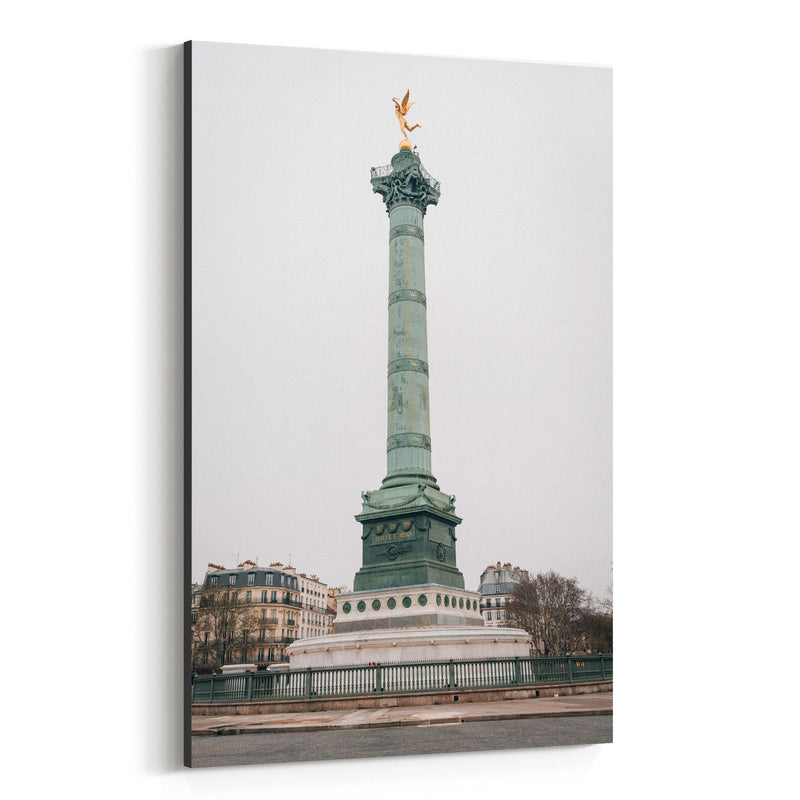 Bastille Paris France City Urban Canvas Art Print