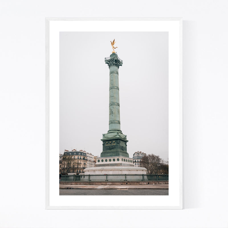 Bastille Paris France City Urban Framed Art Print