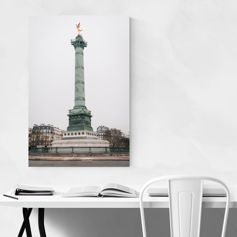 Bastille Paris France City Urban Metal Art Print
