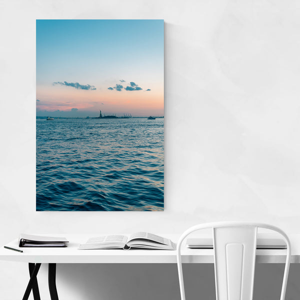 Hudson River Sunset New York Art Print