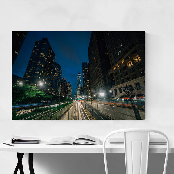Lower Manhattan Skyline NYC Art Print