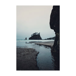 La Push Second Beach Washington Art Print