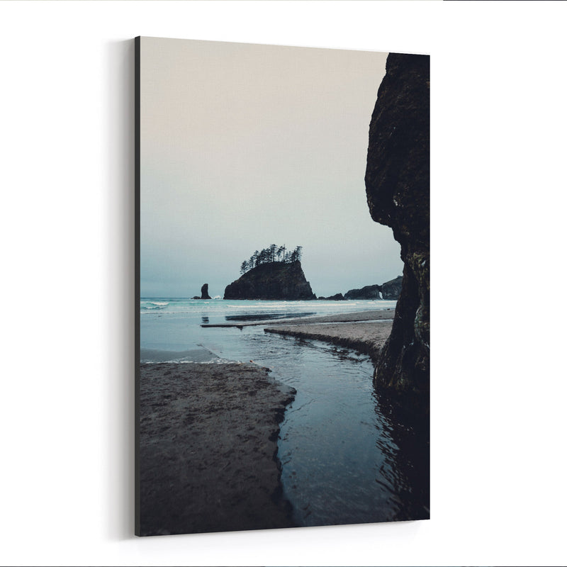 La Push Second Beach Washington Canvas Art Print
