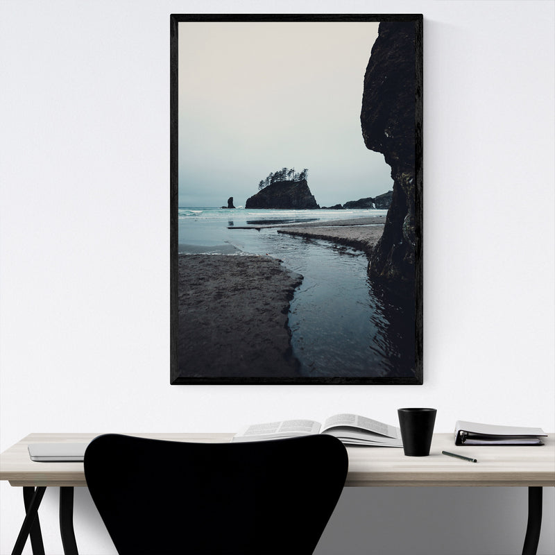La Push Second Beach Washington Framed Art Print