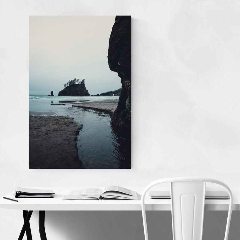 La Push Second Beach Washington Metal Art Print