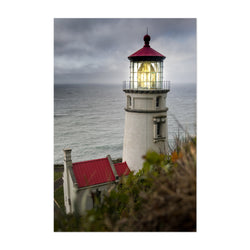 Heceta Lighthouse Oregon Coast Art Print