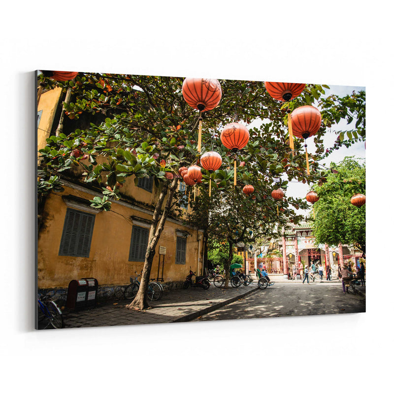 Hoi An Vietnam Urban Photography Canvas Art Print