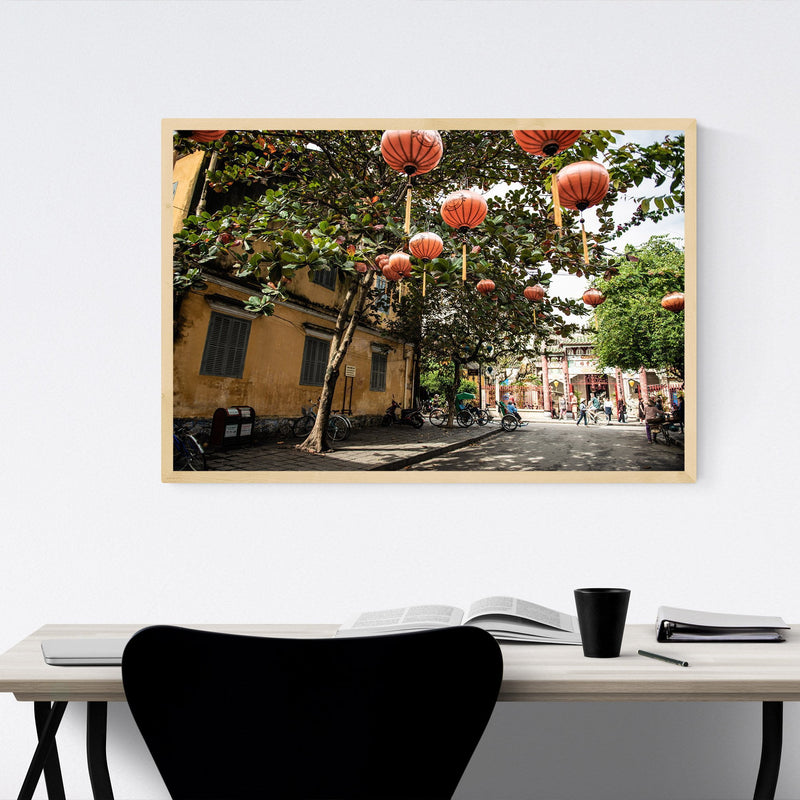 Hoi An Vietnam Urban Photography Framed Art Print