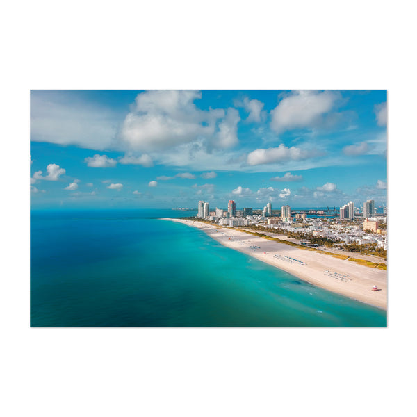 Miami Beach Florida Coastal Art Print