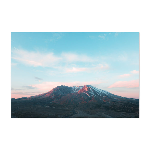 Mt. Saint Helens Washington View Art Print