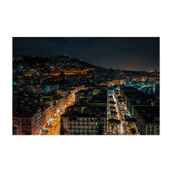 Naples Italy Cityscape Photo Art Print