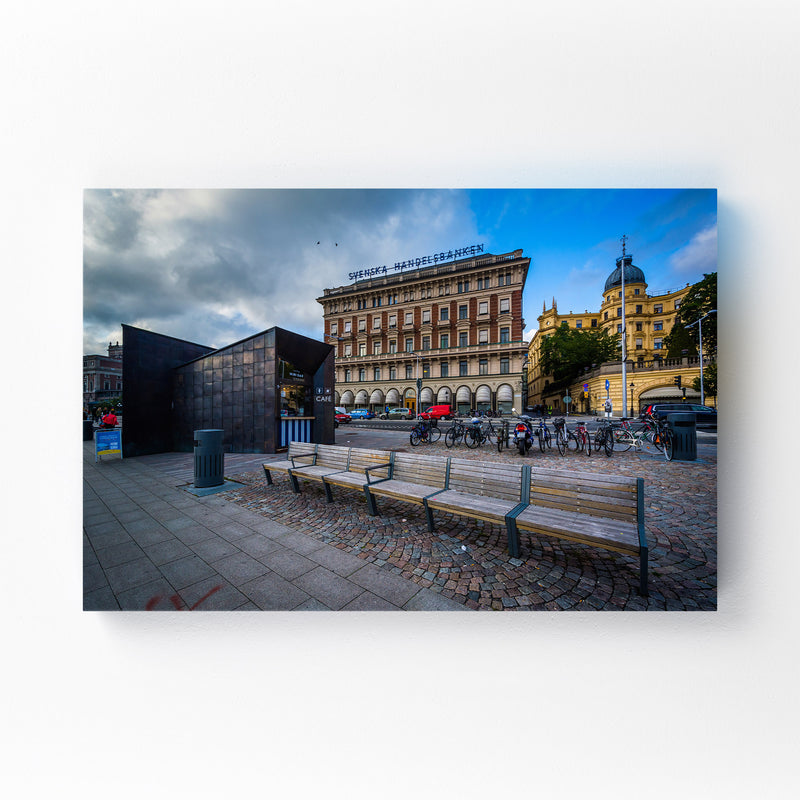 Stockholm Sweden Architecture Mounted Art Print